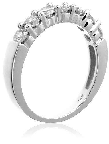 14k Gold Seven Stone Diamond Ring (1 cttw, H I Color, I1
