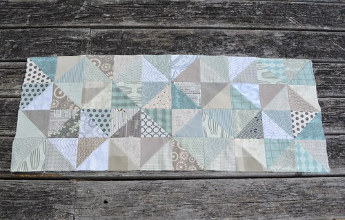 Windmills and Trees Quilt - so far