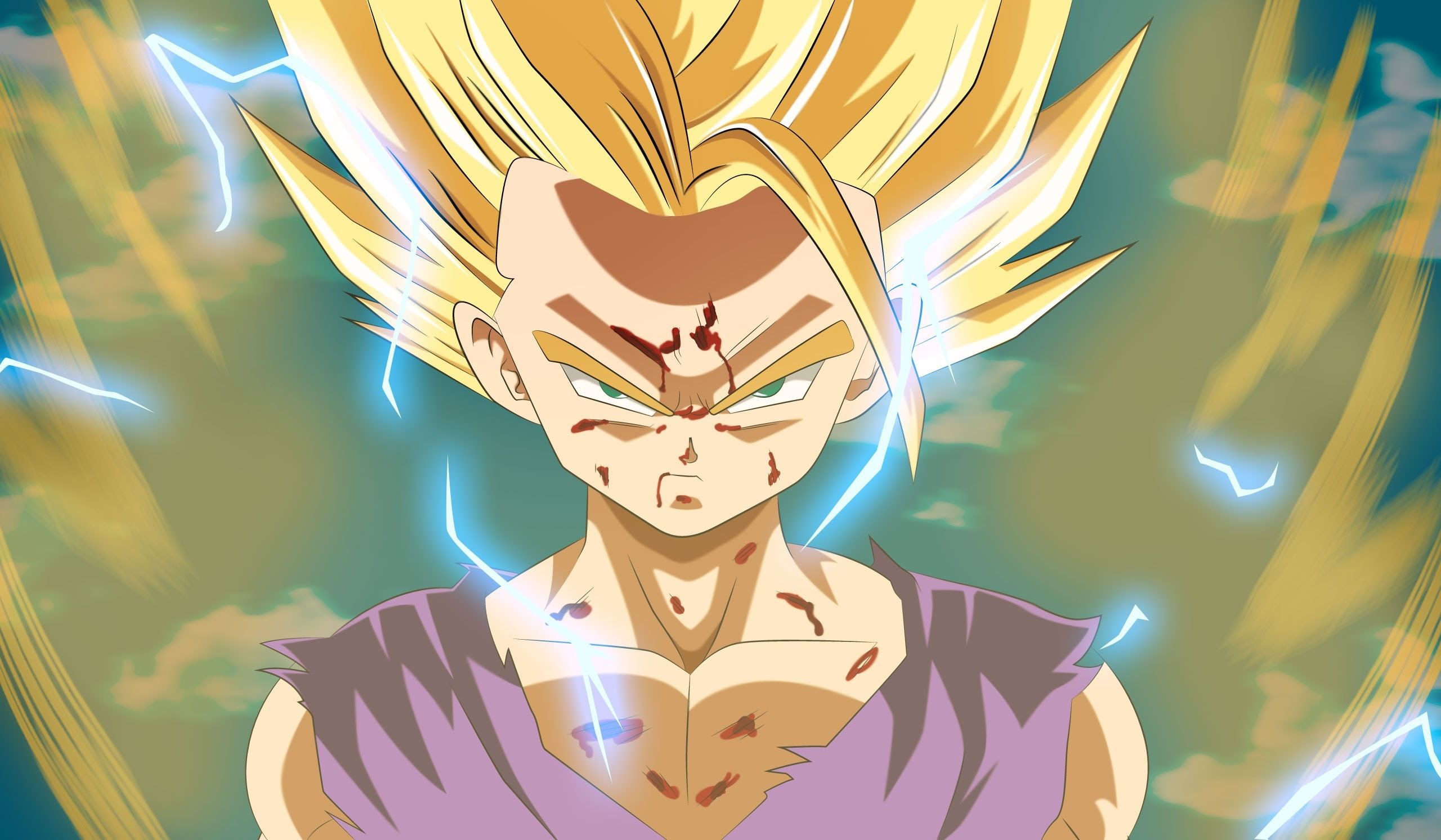Super Saiyan 2 Gohan Wallpaper 62 Images