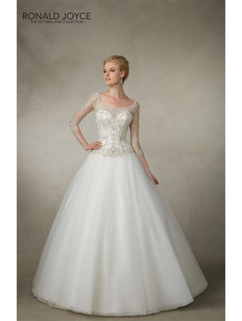 Ronald Joyce 18020 JULY Tulle Ball Gown With Crystal Bead