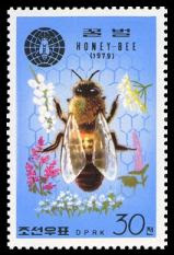 honey bee stamp