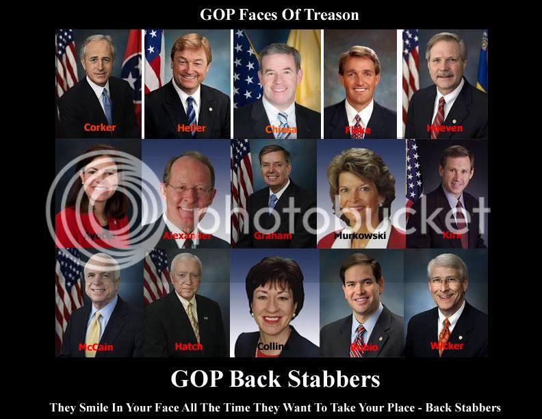 GOP Faces of Treason