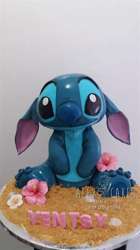 3D Stitch cake   cake by Alex   CakesDecor