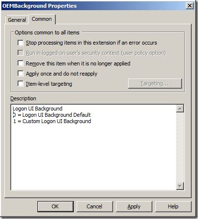 group policy  configure windows  logon ui