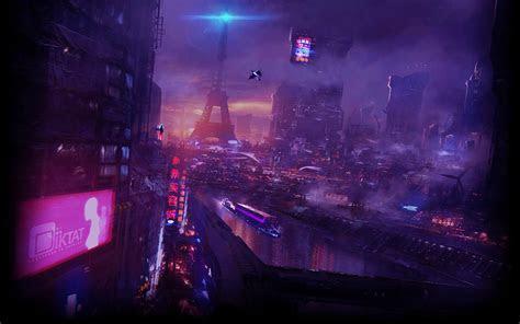 cyberpunk neo paris  wallpaper engine