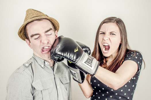 Angry, Argument, Boxing, Boxing Gloves