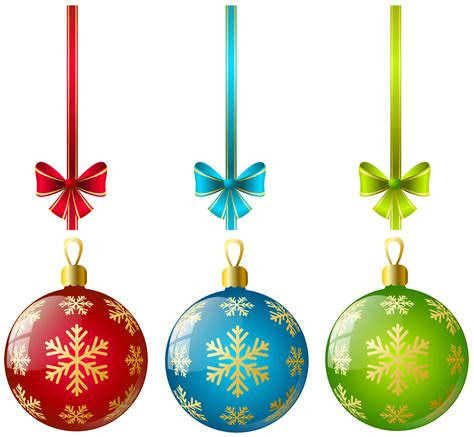 christmas ornaments png file png mart