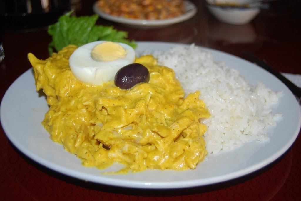 The Classic of Creole Cuisine, Ají de Gallina, Thrills ...