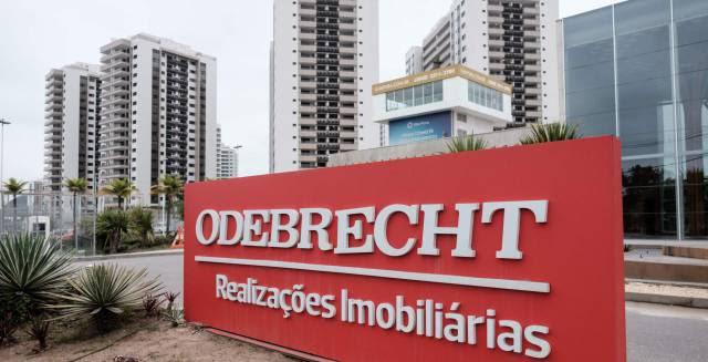 La sede de Odebrecht en Río de Janeiro, Brasil.