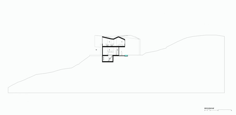 Casa en ladera - Paisajes Emergentes, Arquitectura, casas, diseño