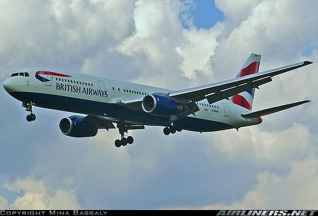 British Airways Boeing 767 [Click to Enlarge]