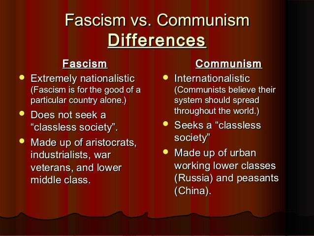 29 Fascism Vs Communism Venn Diagram
