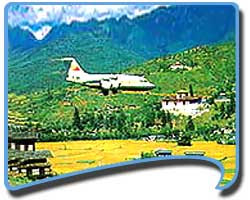 Paro Airport, How to Reach Bhutan