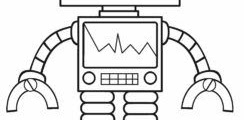 Free Printable Coloring Pages Robots