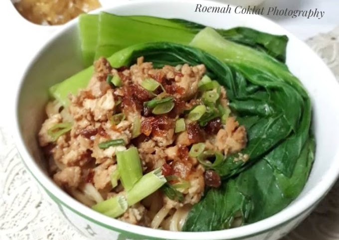 Resep Memasak Yamin Ayam (Mie Yamin) Tanpa Tanding