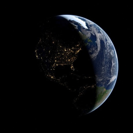 Globe At Night - Public Domain