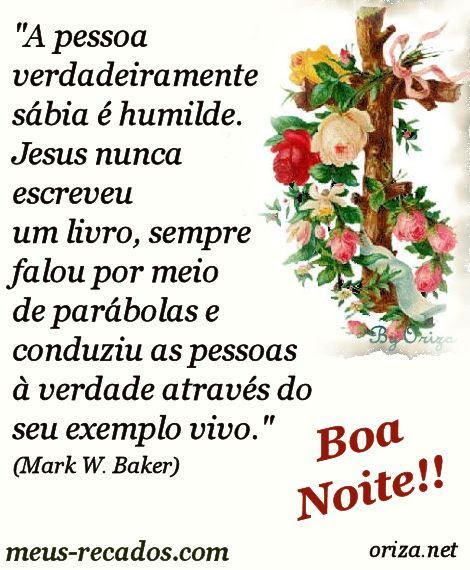 Boa Noite Siga O Exemplo De Jesus Orizanet Portal Gifs By