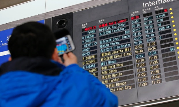 Malaysia Airlines lose contact with plane bound for Beijing– live