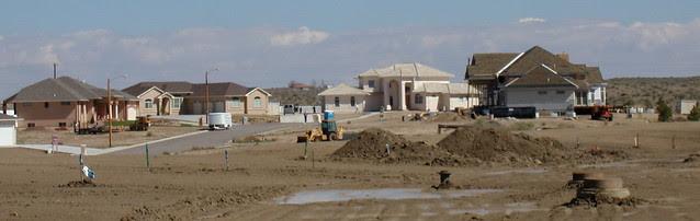 New house construction, Pueblo, CO