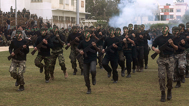 Hamas training camp for youths (Photo: MCT)