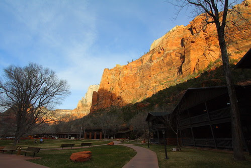 IMG_5428 Zion Lodge, Late Afternoon