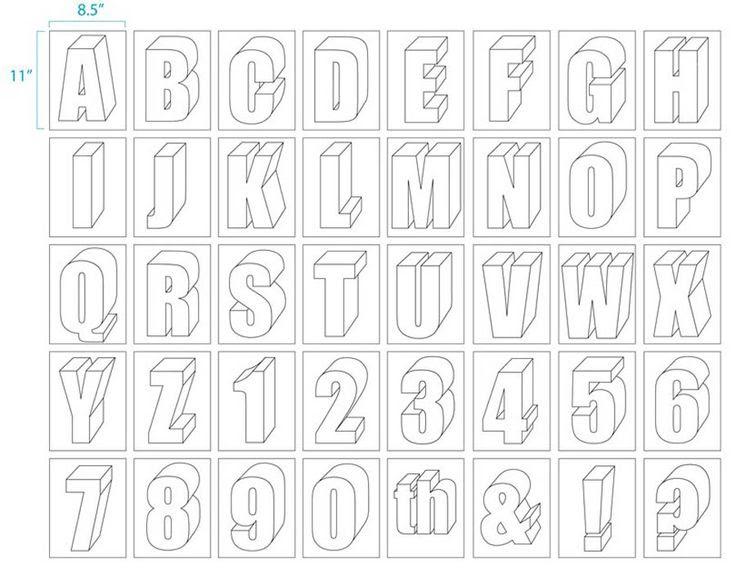 Large Size Alphabet Letter Printable | Alphabet : Art Projects for ...
