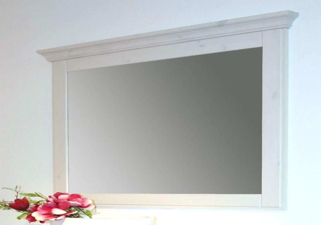 massivholz spiegel mit holzrahmen wandspiegel 180x100