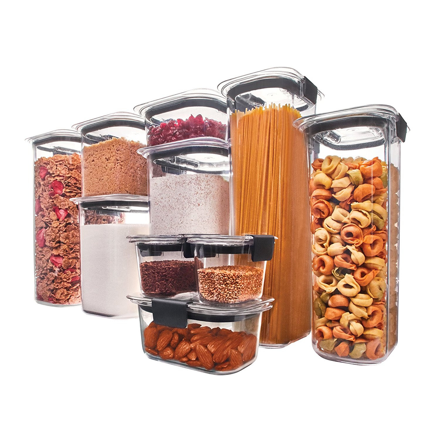 Rubbermaid Brilliance Food Storage Container 10-Piece Set $41.95 Shipped - Wheel N Deal Mama