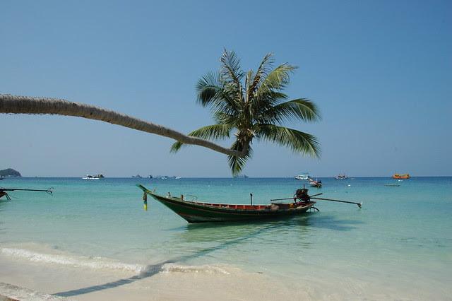 Ile de Koh Tao au sud de la Thailande