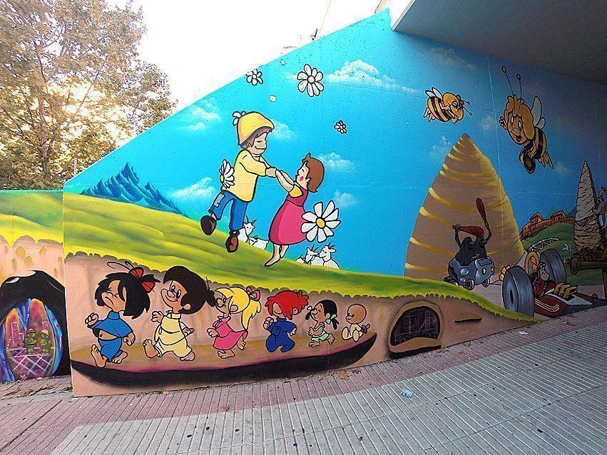 Murales Artisticos Para Mantener Limpios Paredes Y Muros Vivir