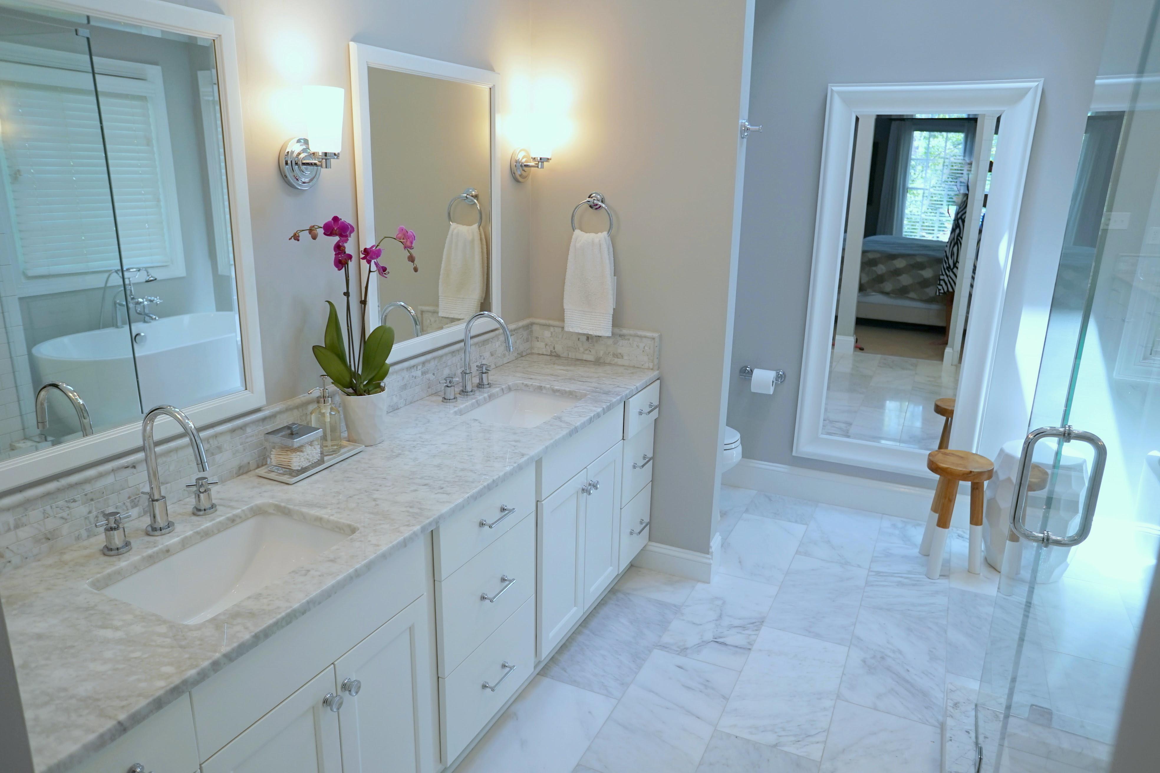 Bathroom Remodeling Pictures | TrendMark Inc.