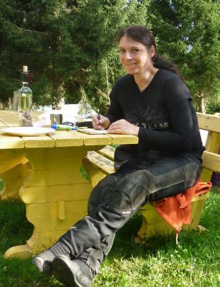 Svenja Svendura schreibt Reisetagebuch
