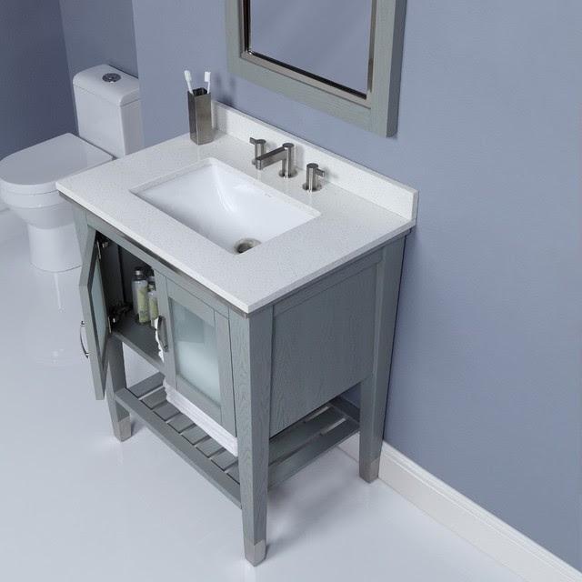 Small Bathroom Vanities - traditional - bathroom vanities and sink ...