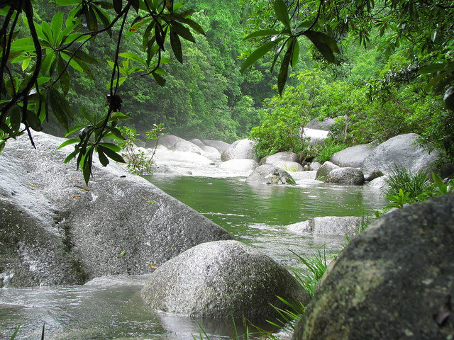 Mossman River during the rainy season