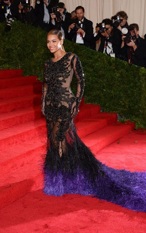 Costume Institute Gala Met Ball - May 7, 2012, Beyonce