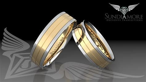 Hand Made 14k gold wedding rings Philadelphia