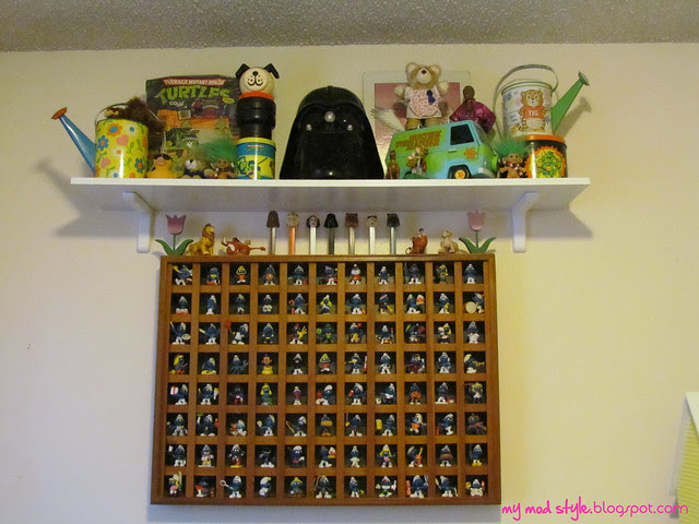 Smurf Wooden Shelf