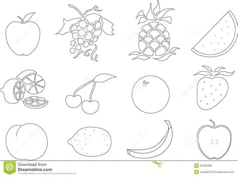 fruit salad coloring page  getcoloringscom