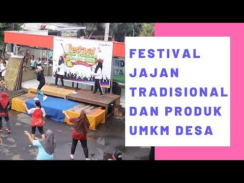 Festival Jajan Tradisional dan Produk UMKM Desa Wonopringgo Tahun Baru 2019
