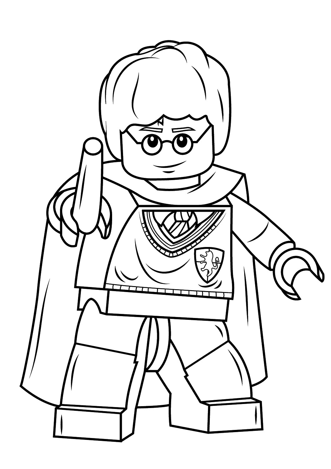 Lego Harry Potter And His Wand