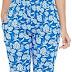 Clovia Women's Cotton Leaf Print Pyjama