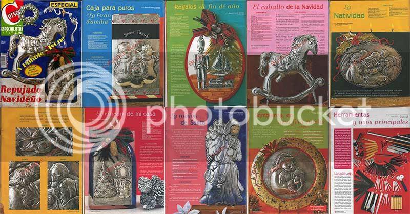 arte ruso repujado navideño, arte ruso para navidad, arte ruso diseños practicos y faciles para aprender