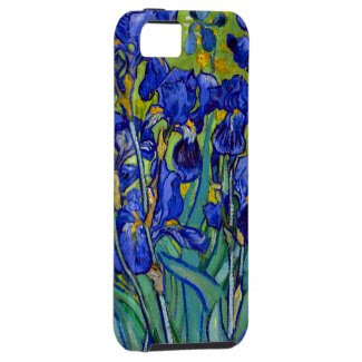 Van Gogh Irises 1889 iPhone 5 Cases