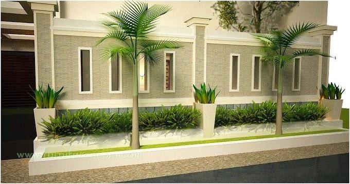 Pagar Rumah Minimalis Batu Alam | Ide Rumah Minimalis