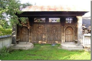 Carved Gate