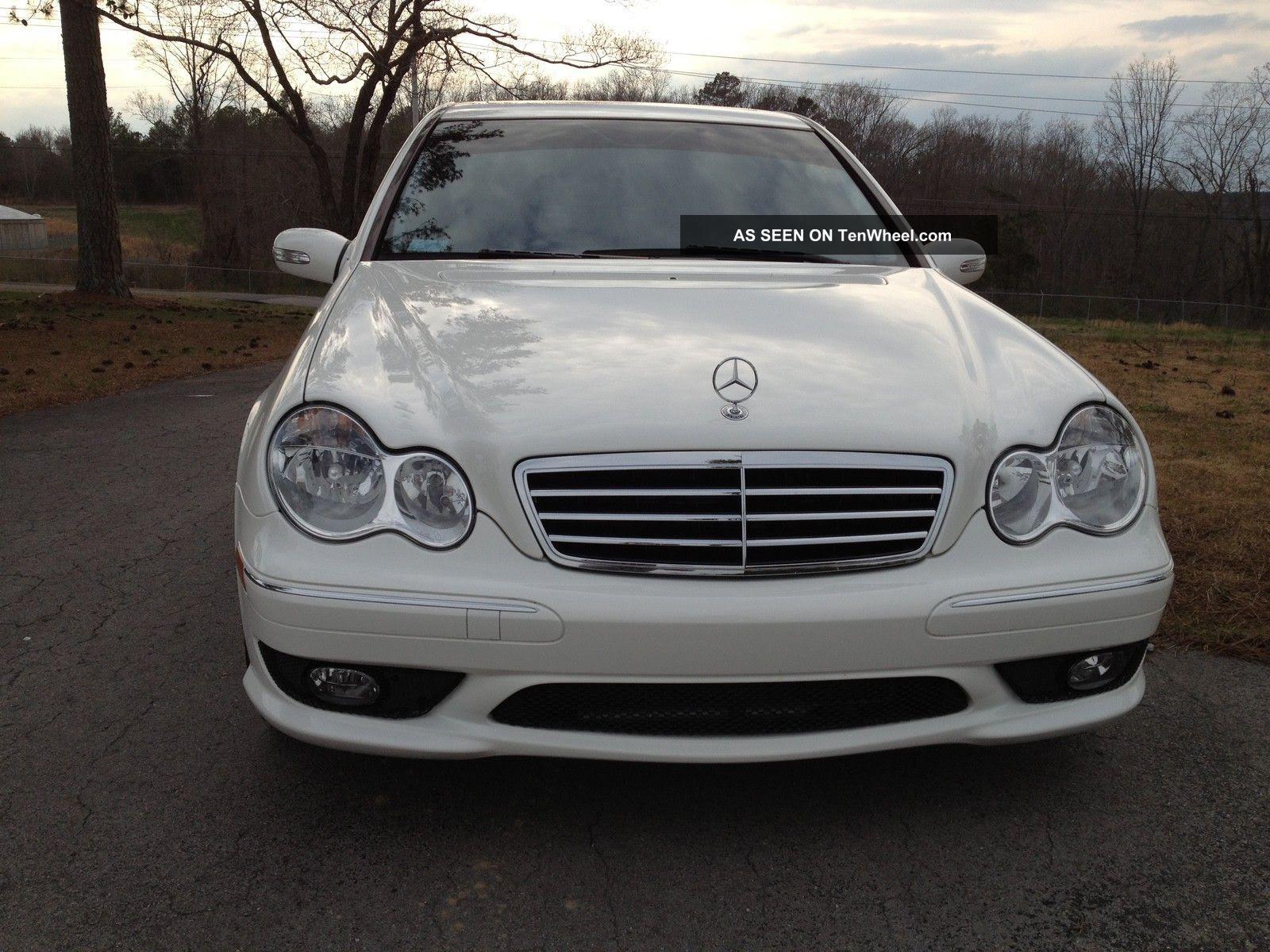 2006 Mercedes - Benz C230 Sport Sedan 4 - Door 2. 5l