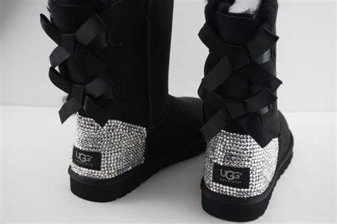 Crystal Swarovski UGG Bailey Bow Boots on Storenvy