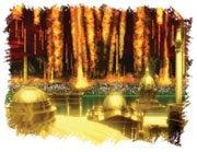A világ végén tűzeső hull alá az égből a gonoszokra és meg fogja emészteni őket.