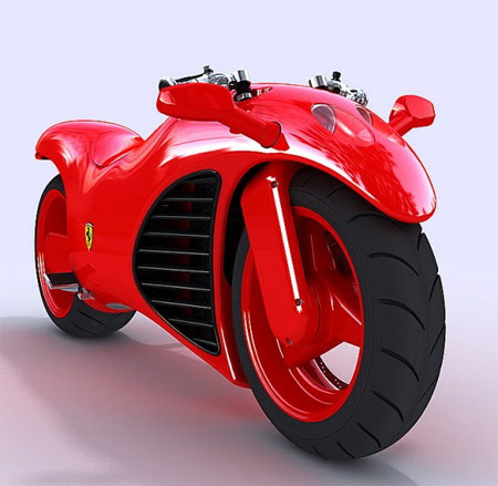 Ferrari V4 Concept Motorcycle 2