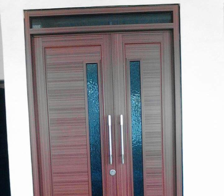 Tren Gaya Pintu Utama Minimalis Aluminium, Pintu Minimalis